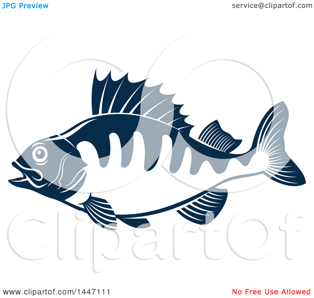 White Perch Clipart