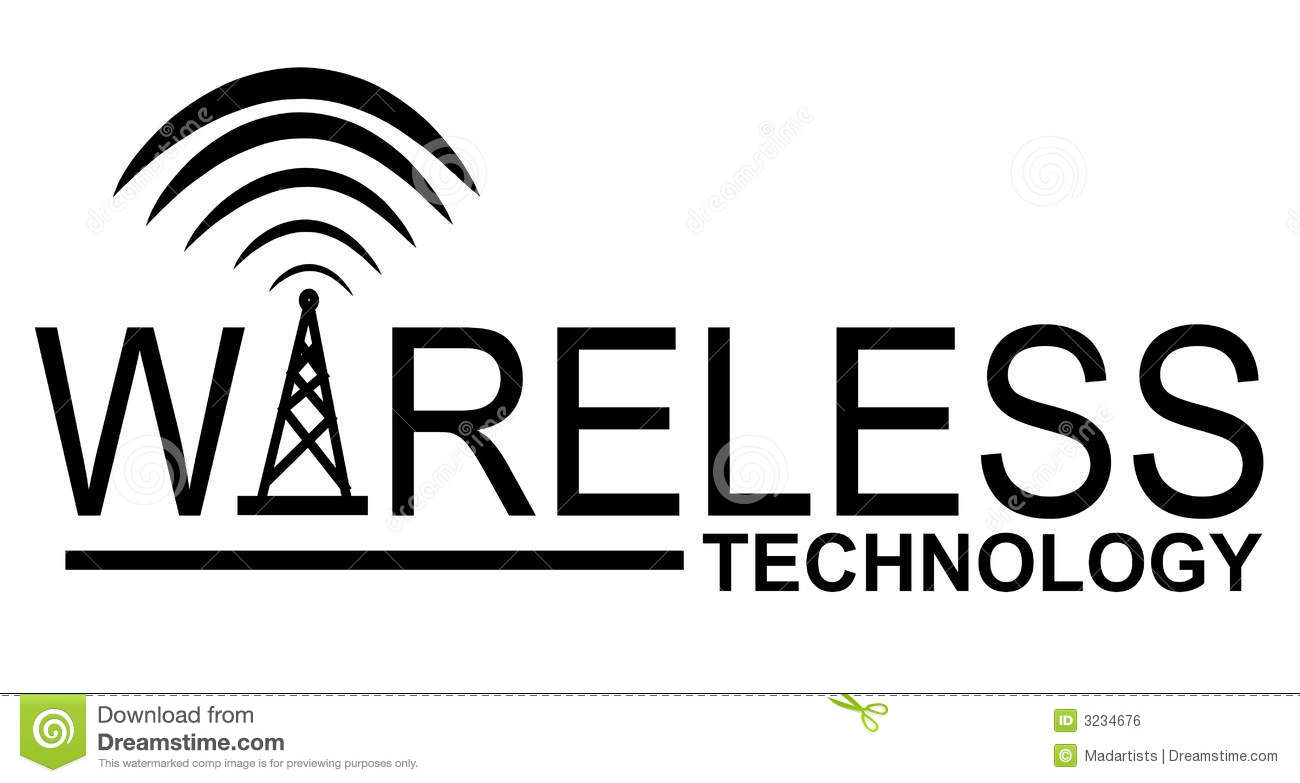 Wireless Technology Clipart