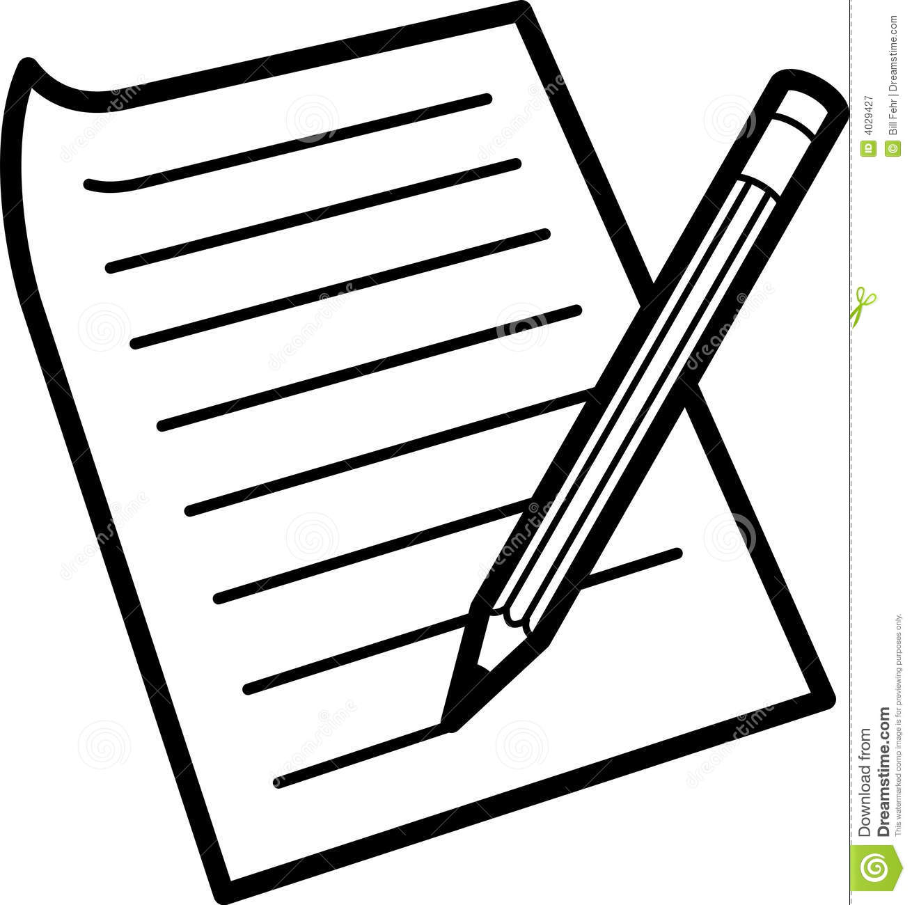 Writing Paper Clipart 20 Free Cliparts