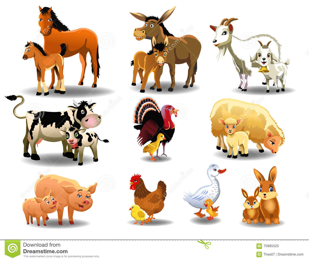 Young Animal Clipart