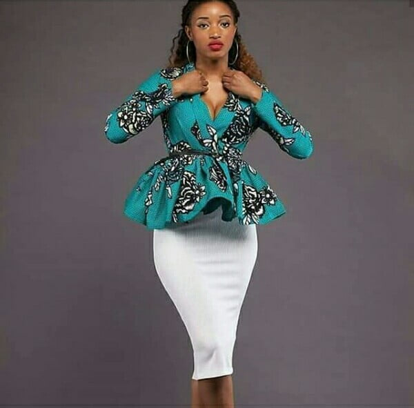 peplum chitenge tops buy clothes shoes online