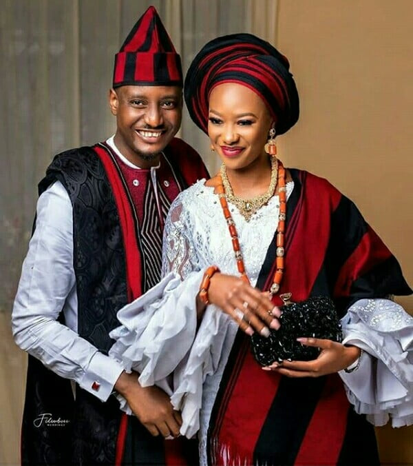 Benue Couple In Beautiful Idoma Traditional Attire For Wedding ...