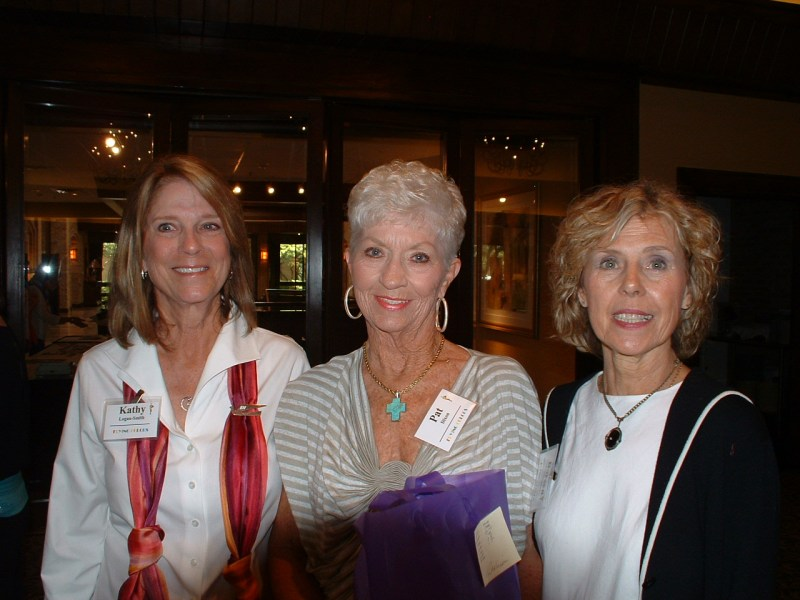 Kathy Logan Smith, Pat Dixon & Doreen Christensen