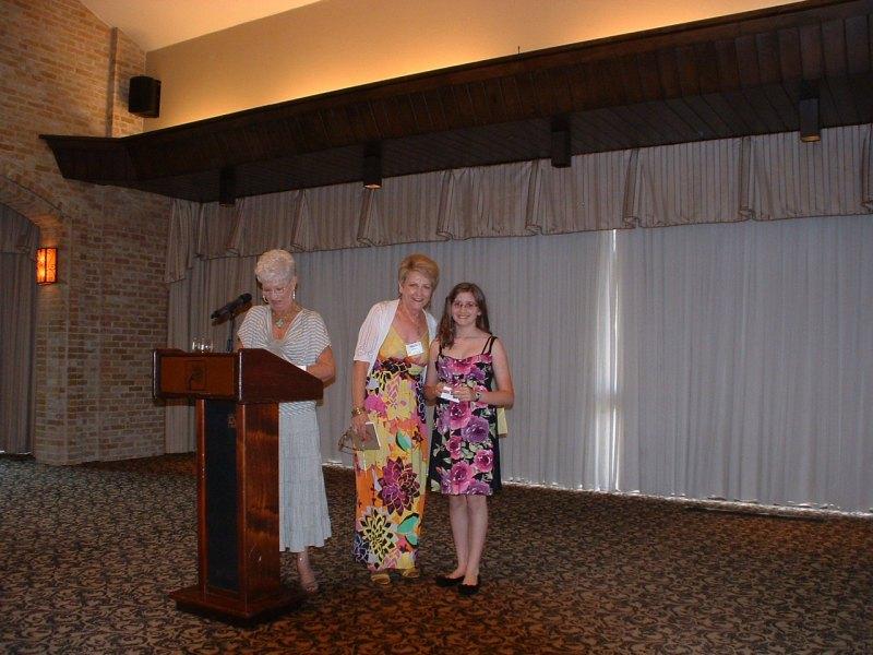Pat Dixon, Marie Solomon & Cheyenne Gwin