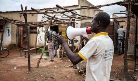 The malaria vaccine was trialled in Burkina Faso OLYMPIA DE MAISMONT/AFP via Getty Images Read more: https://www.newscientist.com/article/2275573-malaria-vaccine-from-oxford-covid-19-team-is-most-effective-ever-made/#ixzz6t2AHqDMW