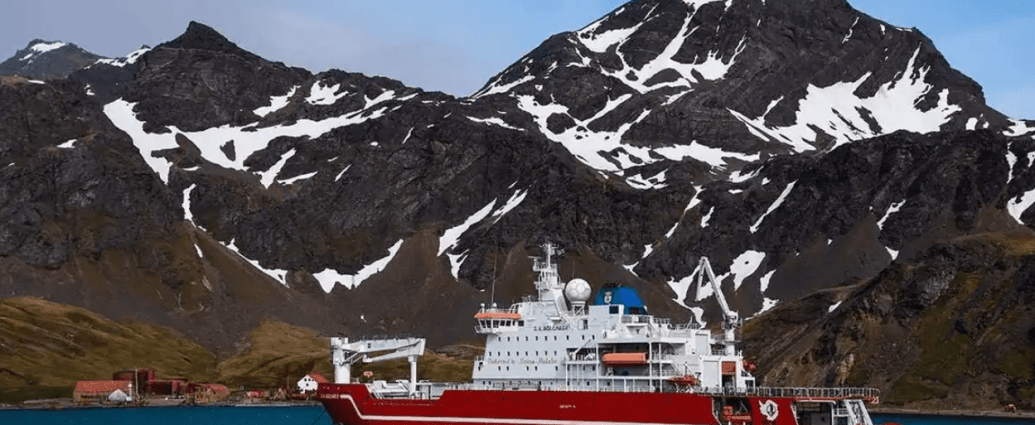 Endurance22 will be led by British polar explorer John Shears, who also led the 2019 expedition. A team of 50 members will be on board the SA Agulhas II, including the British-born American explorer, Richard Garriott. (Courtesy: Falklands Maritime Heritage Trust)