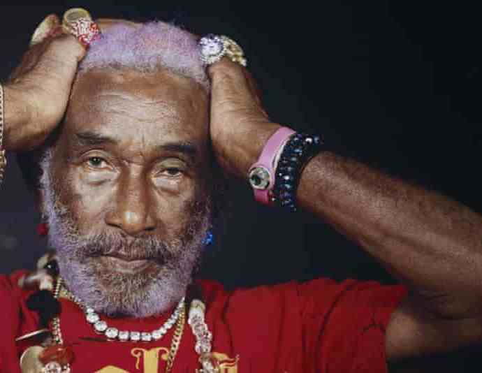 Lee 'Scratch' Perry in 2014. In the mid-1970s, he ruled the Jamaican music scene from his Black Ark studio. Photograph: Kate Peters