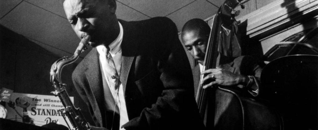 Pee Wee Ellis performing in Rochester, N.Y., in 1958 with Ron Carter on bass. Mr. Ellis bridged jazz and funk, and brought his fusion sensibility to James Brown's band as an arranger and composer.Credit...Paul Hoeffler/Redferns, Getty Images