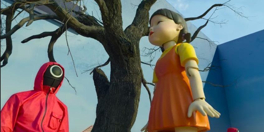 A scene from South Korea's Netflix Drama 'Squid Game' (The Jakarta Post/Netflix)