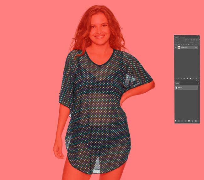 Photoshop see through clothes
