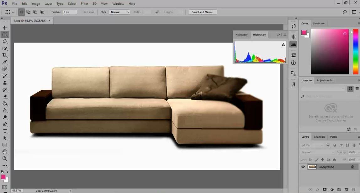 Photoshop retouching tutorial