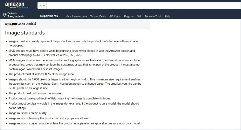 amazon product image optimization