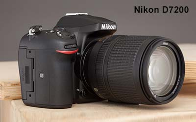 Nikon D7200 best Camera for Product Photography