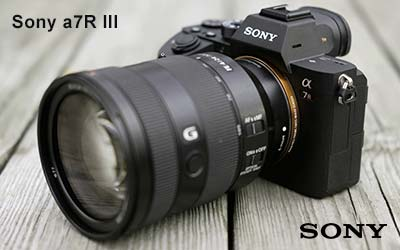 Sony a7R III best Camera for Product Photography