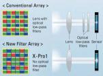 fujifilm x pro 1 trans cmos sensor array filter