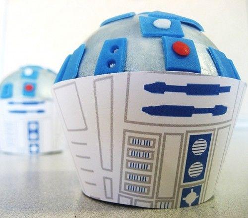 r2d2 cupcakes