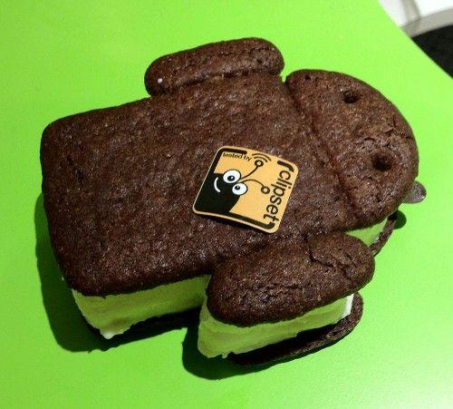 android 4.0 ICS ice cream sandwich helado