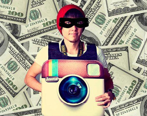 instagram thief
