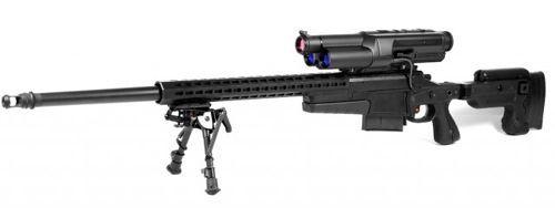 Rifle con mira automática