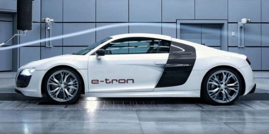 Audi R8 e-Tron Iron Man clipset