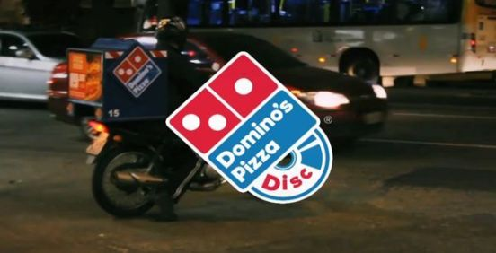 DVD olor a pizza Dominos Pizza Disc clipset