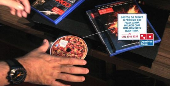 DVD olor a pizza Dominos clipset