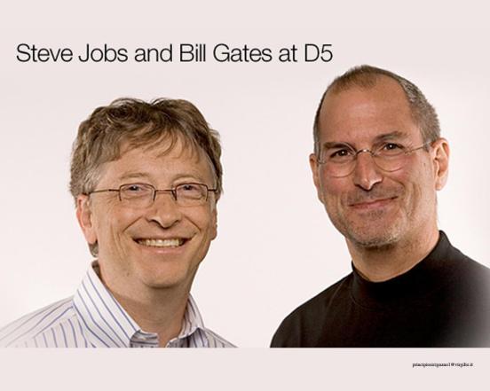 Jobs y Gates 2