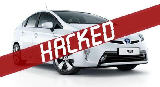 Toyota Prius hacked clipset