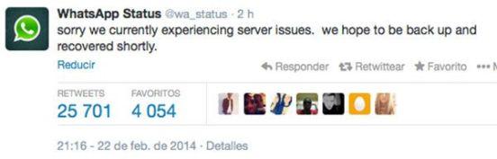 whatsapp-down-tweet