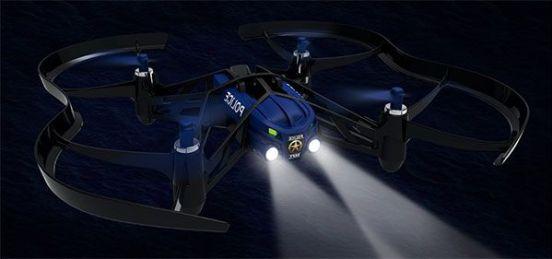 minidrone parrot cargo night5