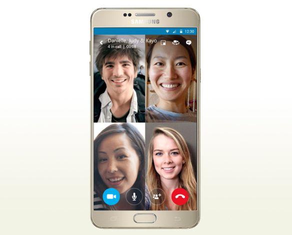 skype multi llamada movil clipset