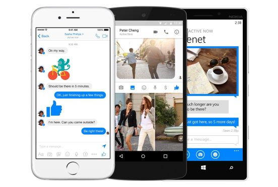 Facebook Messenger apps