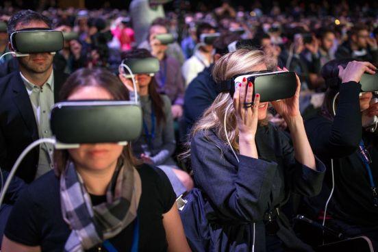 Samsung Gear VR gente