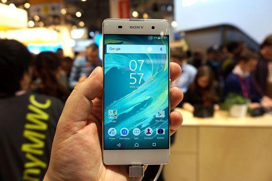 Sony Xperia XA 01