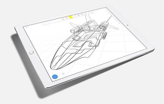 iPad Pro dibujo