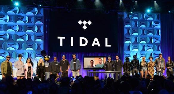 Evento de lanzamiento de Tidal