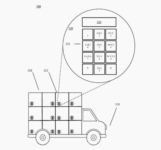 patente camion google