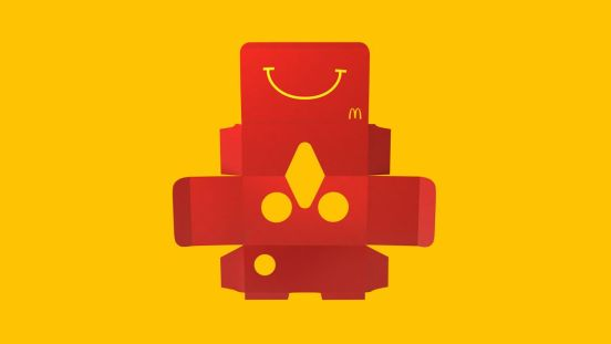 Caja VR McDonalds