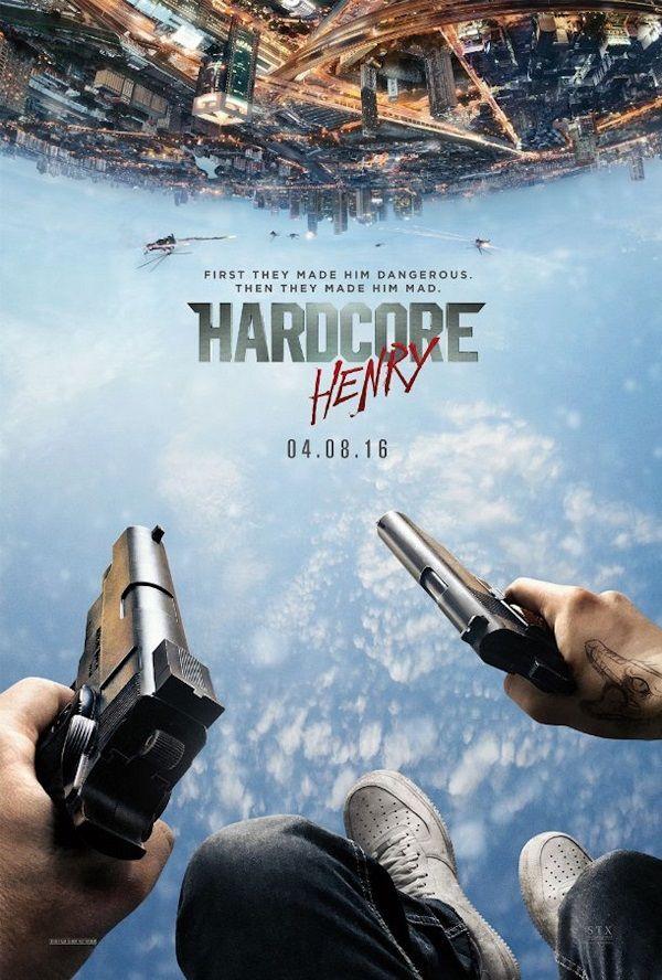 Cartel de Hardcore Henry