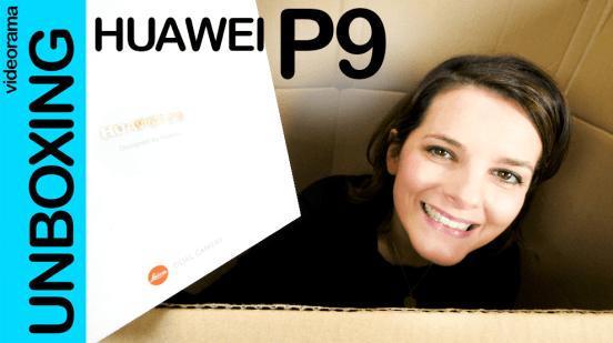 huawei p9 unbox
