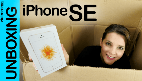 iphone se unbox