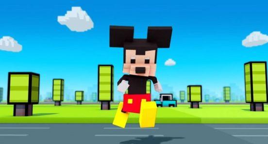 mickey crossy road