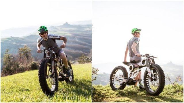 Moto Parilla Carbon.4