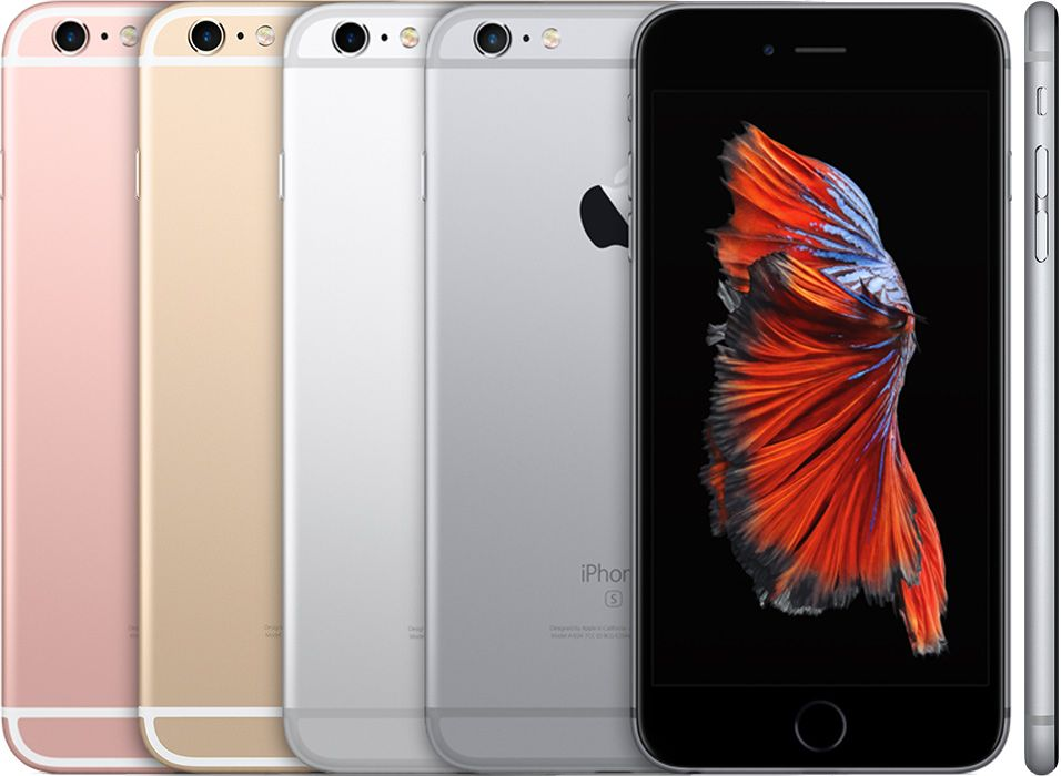 iPhone 6 en sus diferentes colores