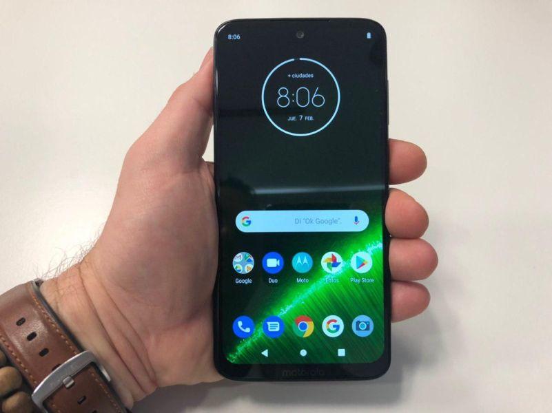 Motorola Moto G7: una familia barata de móviles con una enorme batería