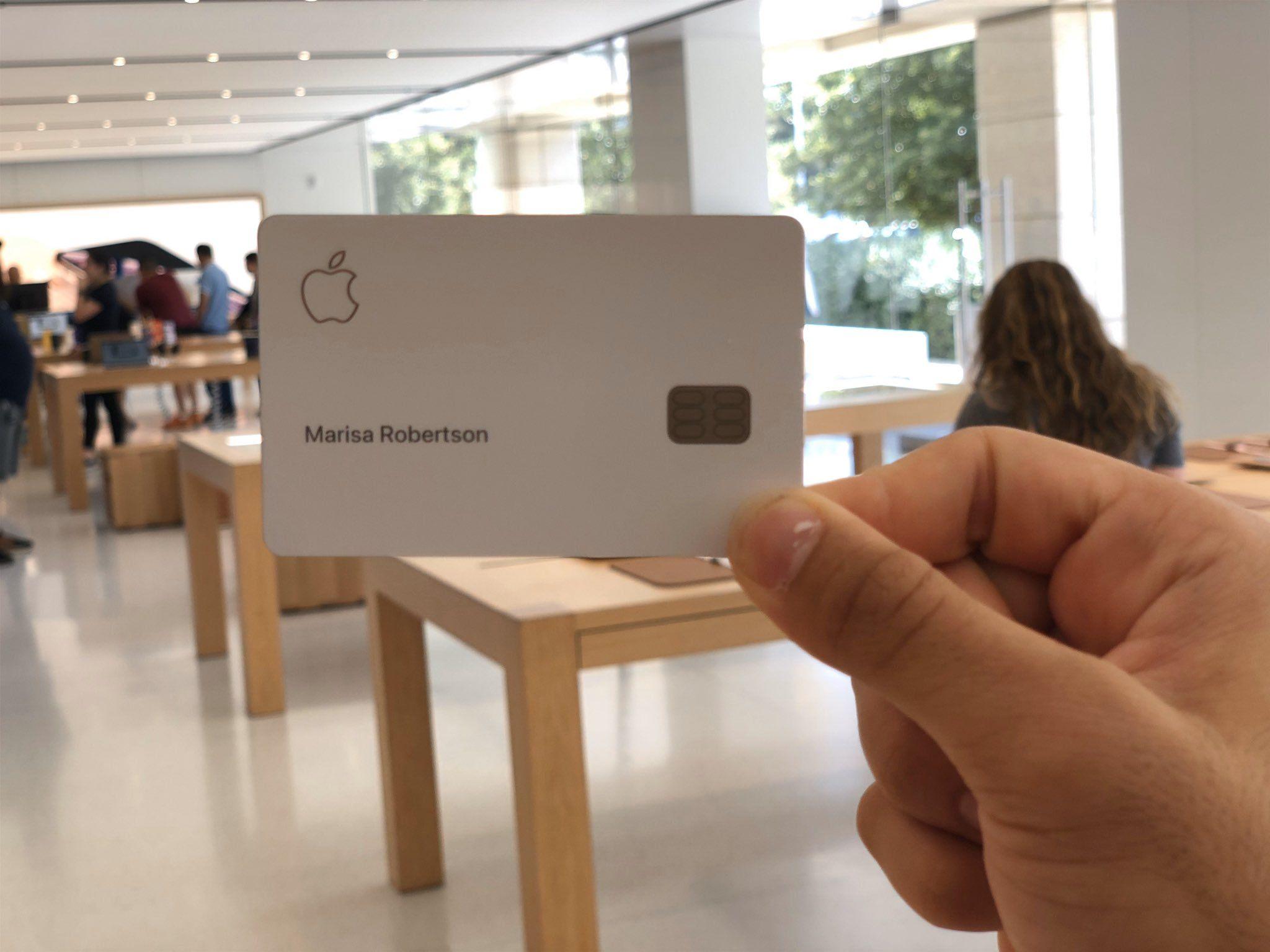 apple card apple store