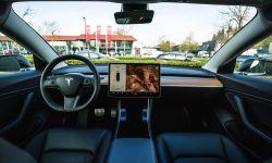 Interior de un Tesla Model 3