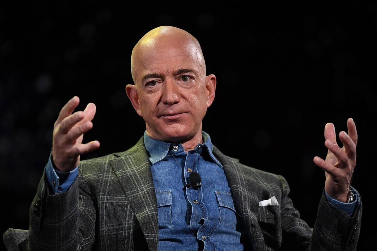 bezos amazon ceo
