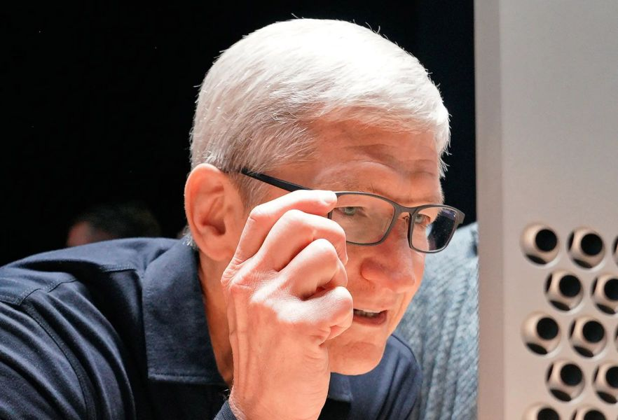 Tim Cook gafas