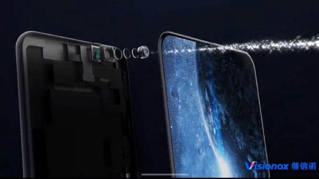 visionox-camara pantalla